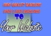 submit your website or blog to 1,500 Backlinks and directories for SEO