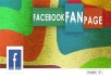 i will design a attractive and professional facebook fan page for you 100% pure work i will do my best to satisfy you