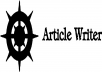 write a 500 words article on any niche except business