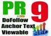 manually Do 55 PR9 Safe Dofollow Backlinks From Google Domain