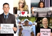 hold your sign professionally with Celebrity