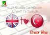 translate 600 words from English to Turkish or vice versa