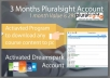 give you pluralsight account 3 Months