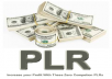 Give You  A Zero Competition Latest 35 PLR  Products