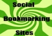Bookmark Your Link to 100 Unique Social Bookmarking Sites Plus Pinging