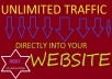 send 10,000 real traffic to your website