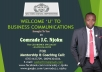 give you my Business communication training material