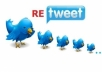 give 2500+ REAL Twitter Retweets Guaranteed within 24 hours