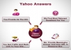 do 10 YAHOO Answers With Your Site Link in Source