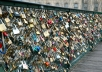do a love lock for you and your lover at Paris