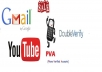 provide 20 double verified youtube channel
