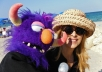 Create a FUN PUPPET VIDEO Greeting for any occassion