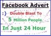Post Your Message Or Link Twice To 5 Million Facebook Group Members ASAP
