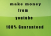 teach you how to make 3000 dollars from youtube in your first month