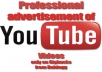 promote your Youtube video over our website network and social networks for 5 days