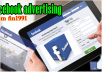 create facebook ADVERTISEMENTS,promote them among 6000000 people