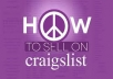 share best strategy to post in Craigslist