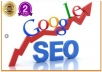 give you my SEO Plan to get your site on Google's 1st page