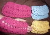 handcrochet fingerless gloves
