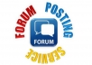 make 40 high quality Forum Posts and Topics