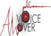 record any voice over up to 600 words