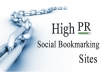provide 50 high PR bookmarks