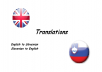 translate up to 400 words from English to Slovenian and vice versa