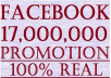 share your link to 17 Million Facebook Fans and 90k Twitter Followers