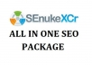 run Senuke xCR Service to do Safest Backlinks in 48 hours
