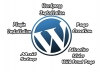 make website on wordpress with premium theme