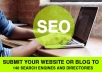 submit Your Website or Blog to 140 Search Engines and Directories