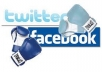 blast your message or Any Website to my loyal 10M Usa HQ facebook and twitter