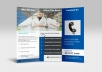 design a professional, Logo Brochure, Flyer and business card
