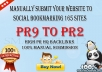 manually Submit your Website to Social Bookmarking 165 Sites