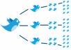 tweet your message 1 times to 300,000+ followers and will get 30+ retweets