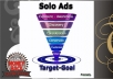 blast your solo ads to 1,000,000 MLM active subscribers for 1 month