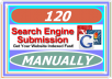 Manually Submit Your Website or, Blog to 120 Top Rated Search Engines