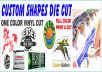 make Sticky Labels, Stickers, Decals any size any shape