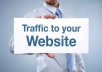 i will provide 1000 + unique visitors Traffic to your website