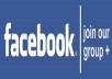 spread your link in 50 famous Facebook group