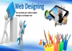 create/design an animated website for your company / products