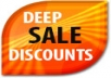 provide a list of thousands of deep discounted products