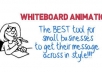 make animated video/ whiteboard animation/ commercial videos expert