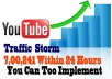 Give You a Tricks to Get 700k  YouTube Traffic Within  24 hrs