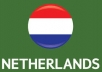 Send You Fast 20,000+NETHERLAND visitors your site Or Blog