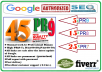 create 45 PR9-PR7 Dofollow High Authority Profile Backlinks
