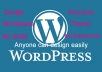 Teach You How to Design a Premium Wordpress Theme Like PRO Without Knowing Any coding Skill