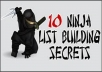 teach you how to build your email list by 1000 in a month