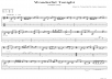 transcribe a music score for any song