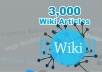 Add unlimited contextual Wiki Backlinks from 3,000 Articles